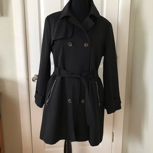Express Jackets & Coats - Express Belted Trench Coat